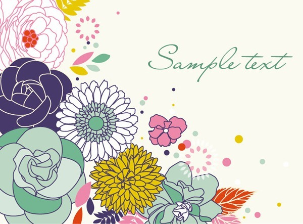 Vector art flowers free download graphic library library 17 Best images about Free vectors on Pinterest | Free vector ... graphic library library
