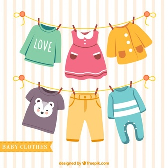 Vector baby clothes clipart vector freeuse stock Clothing Vectors, Photos and PSD files | Free Download vector freeuse stock