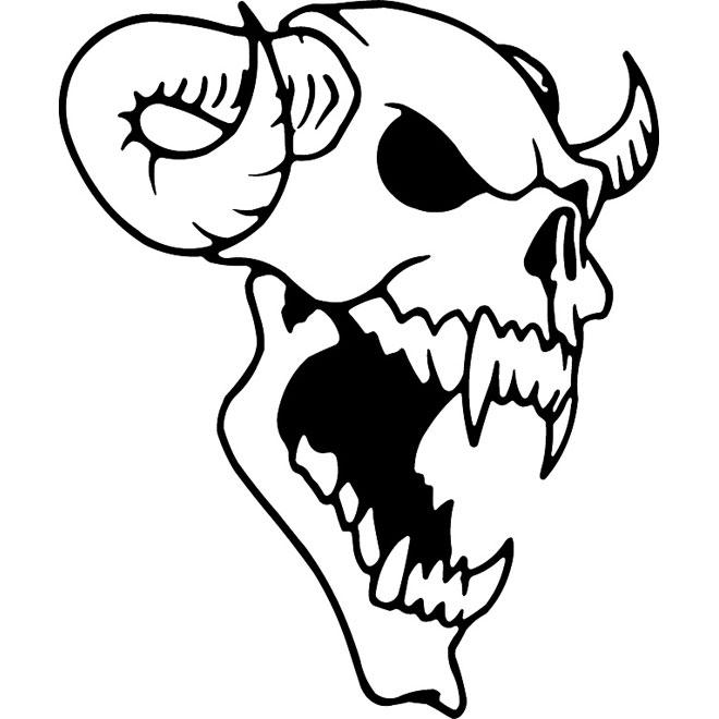 Vector beast skull vector freeuse stock Animal skull free vector 2 - Free vector image in AI and EPS ... vector freeuse stock