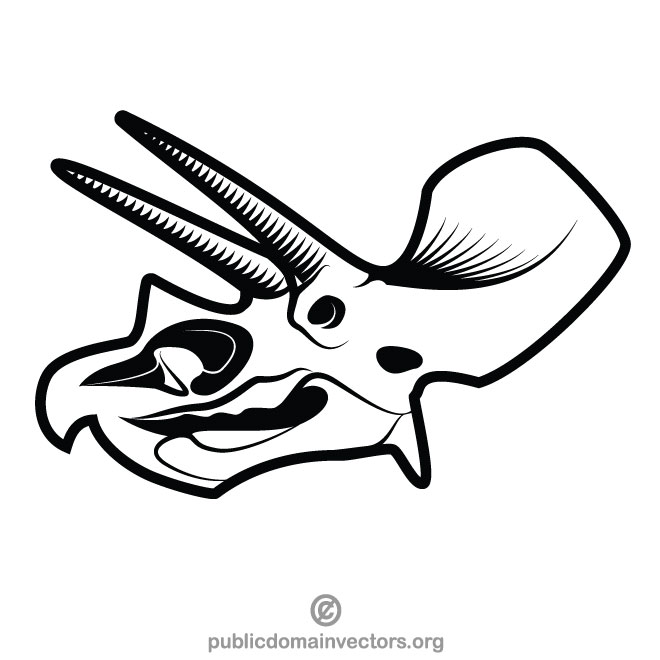 Vector beast skull graphic free Animal skull vector clip art - Free vector image in AI and ... graphic free