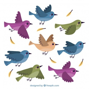 Vector birds clipart picture library library Bird Vectors, Photos and PSD files | Free Download picture library library