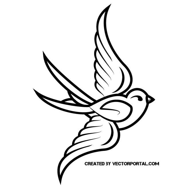 Vector birds clipart png BIRD CLIP ART VECTOR - Free vector image in AI and EPS format. png