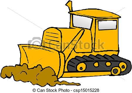 Vector bulldozer clipart free clipart black and white stock 9+ Bulldozer Clip Art   ClipartLook clipart black and white stock