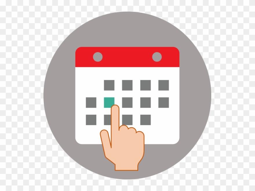Vector calendar clipart transparent download Hand Gesture Clipart Communication Skill - Vector Calendar ... transparent download