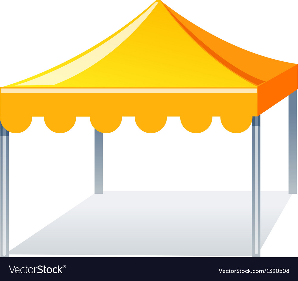 Vector canopy clipart free royalty free stock Icon event tent royalty free stock