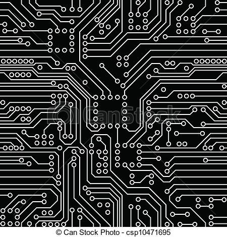 Vector circuit board clipart banner free stock Vector - Circuit Board - stock illustration, royalty free ... banner free stock