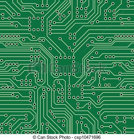 Vector circuit board clipart graphic library download Circuit board Vector Clipart Royalty Free. 4,147 Circuit ... graphic library download
