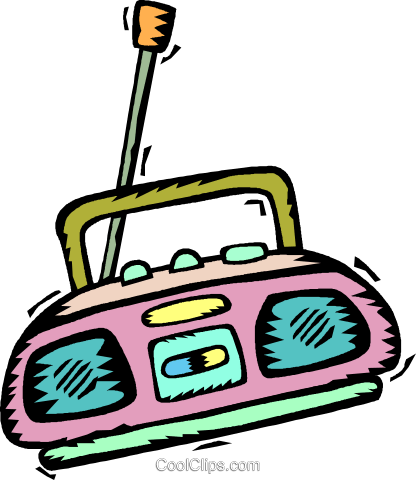 Vector clipart cd player