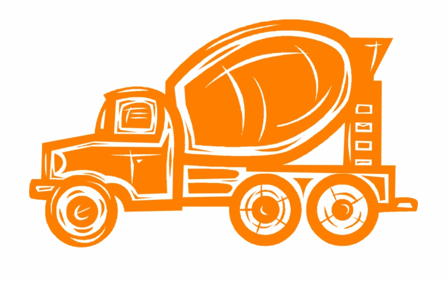 Vector clipart concrete paving graphic free stock Vector Illustration Of Construction Industry Heavy ... graphic free stock