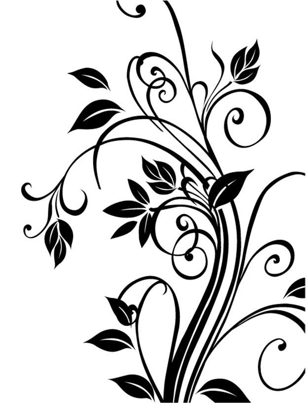 Vector clipart floral jpg free stock Floral vector clipart 6 » Clipart Station jpg free stock
