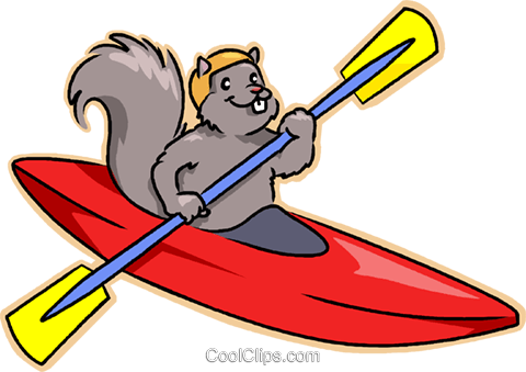 Vector clipart kayak library kayak Royalty Free Vector Clip Art illustration -vc008820 ... library