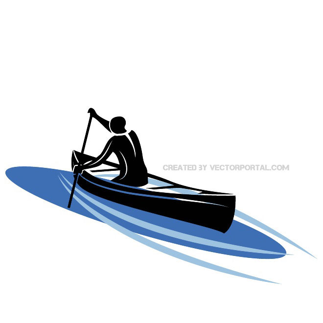 Vector clipart kayak banner library KAYAK VECTOR IMAGE - Free vector image in AI and EPS format. banner library