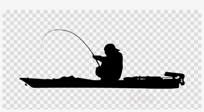 Vector clipart kayak graphic freeuse library Download Kayak Fishing Vector Clipart Kayak Fishing - Clip ... graphic freeuse library