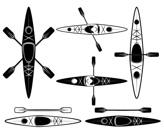 Vector clipart kayak picture royalty free download Kayaking, Kayak, SVG,Graphics,Illustration,Vector,Logo ... picture royalty free download