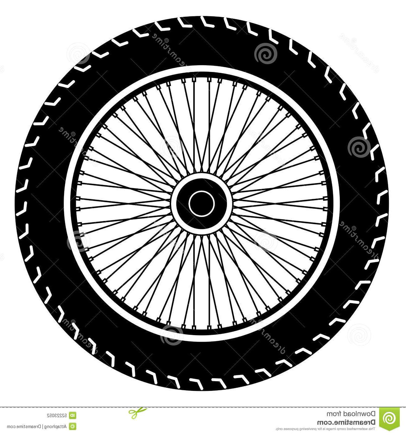 Motorcycle wheel clipart png freeuse Top Motorcycle Wheel Vector Pictures » Free Vector Art ... png freeuse