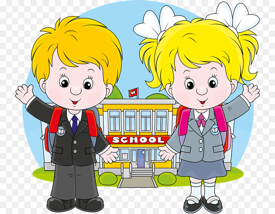 Vector clipart of school image freeuse library School Children Vector PNG School Student Clipart download ... image freeuse library