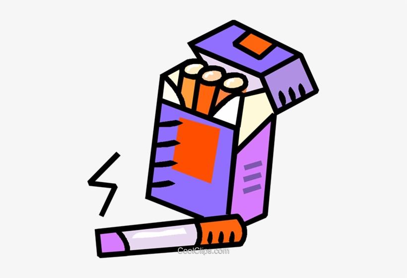 Vector clipart packs svg library Cigarette Packs Royalty Free Vector Clip Art Illustration ... svg library