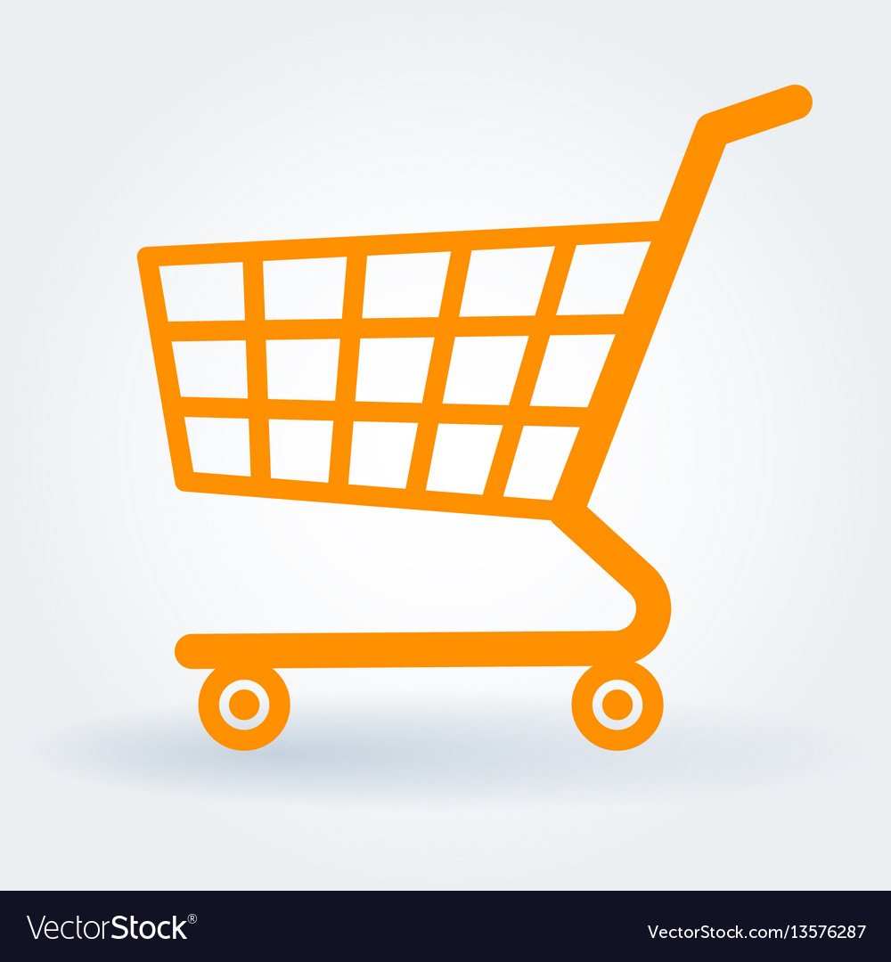 Vector clipart shopping cart clip art free stock Flat design shopping cart clip art free stock