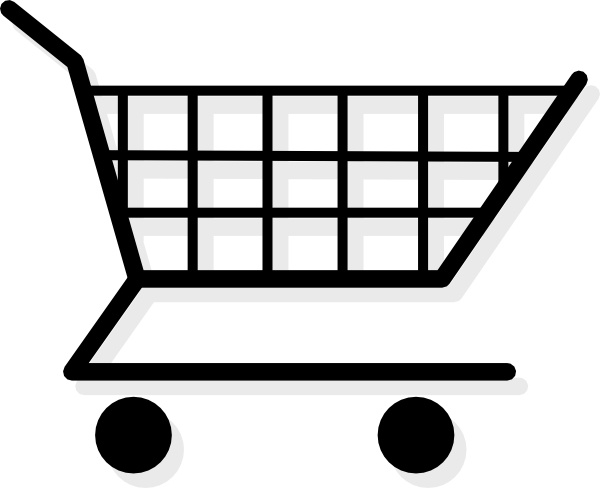Vector clipart shopping cart image stock Shopping Cart clip art Free vector in Open office drawing ... image stock