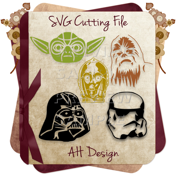 Vector clipart software star wars vector transparent stock Star Wars Characters Cutting Files - Click Image to Close … | DIY Craf… vector transparent stock