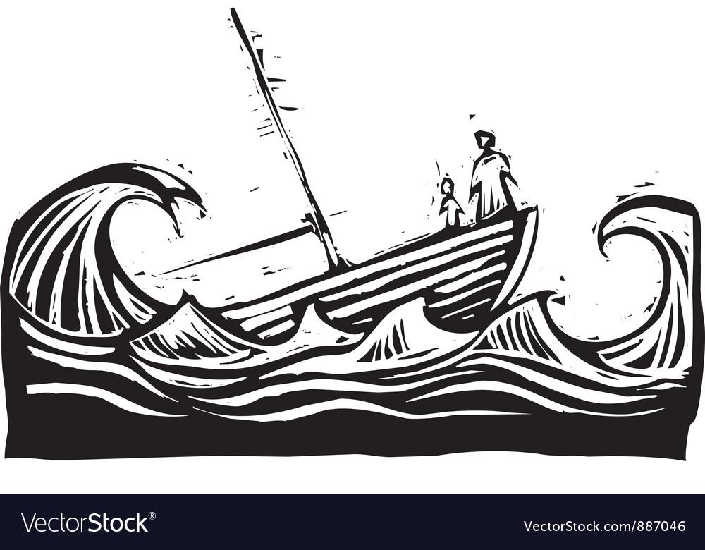 Vector clipart sunken ship banner transparent library Sinking boat vector image banner transparent library