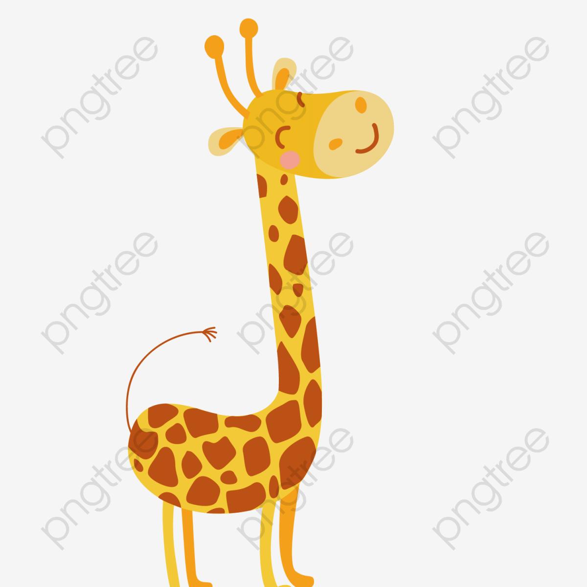 Vector cute clipart clip library Cartoon Cute Giraffe Vector, Cute Clipart, Giraffe Clipart ... clip library