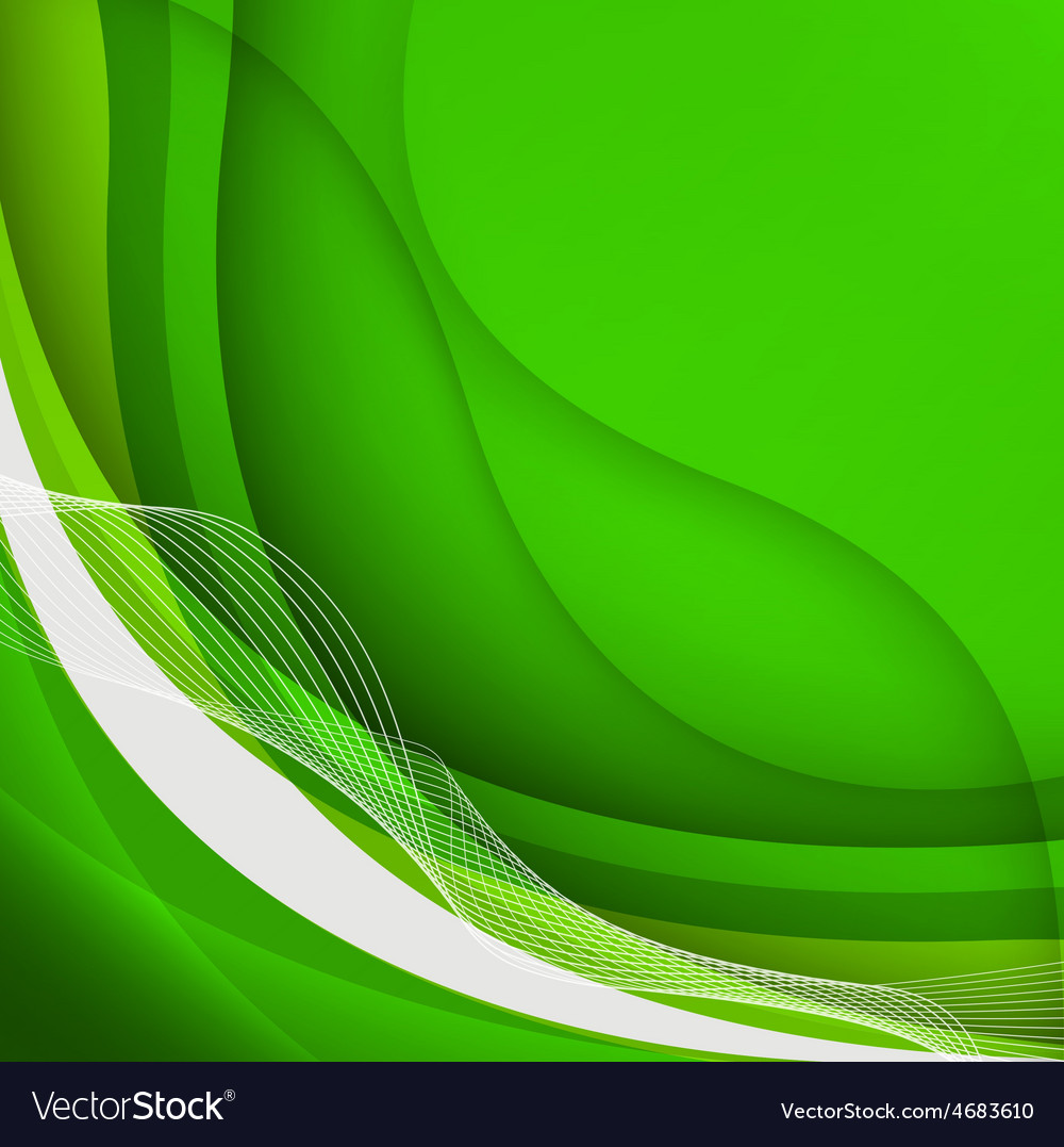 Vector design background green clipart image free download Green waves Background image free download