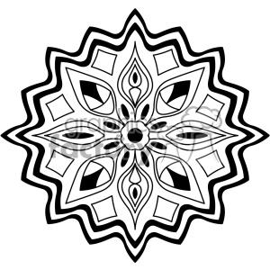 Mandala vector clipart clip art black and white mandala geometric vector design 011 clipart. Royalty-free clipart # 403342 clip art black and white