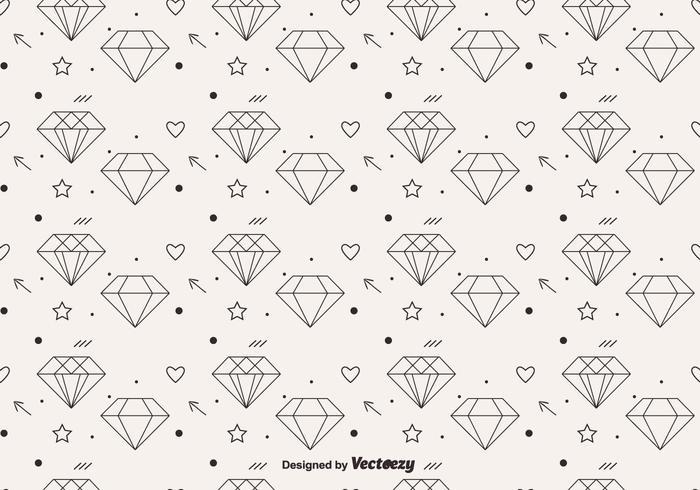 Vector diamond clipart vector royalty free stock Free Vector Diamond Pattern - Download Free Vectors, Clipart ... vector royalty free stock