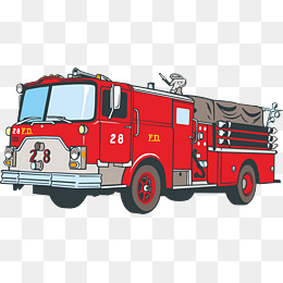 Vector firetruck clipart clipart free library Fire Truck Png Vector Element, Truck Cli #44151 - PNG Images ... clipart free library