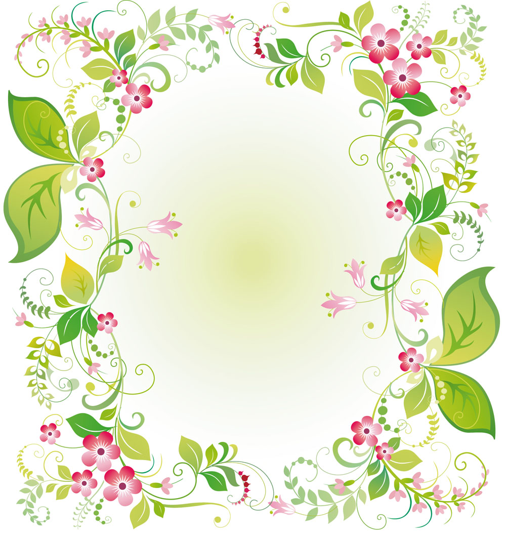Vector flowers free png free library Beautiful flowers and lace 03 vector Free Vector / 4Vector png free library