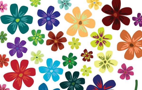 Vector flowers free free Vector Flowers Free Vector - Flowers & Trees Vectors ... free