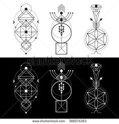 Vector geometry clipart jpg free stock Vector Geometric Alchemy Stock Photos, Images, & Pictures ... jpg free stock