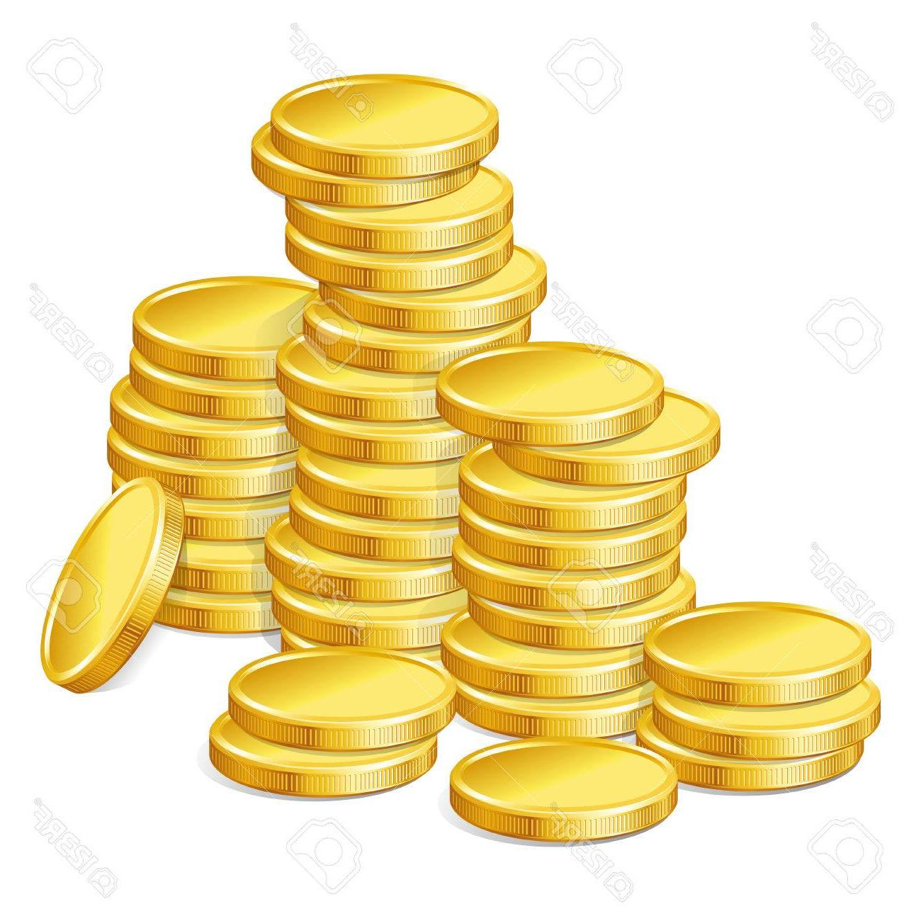 Vector gold coins clipart vector free Best HD Stack Of Gold Coins Clipart Vector Photos » Free ... vector free