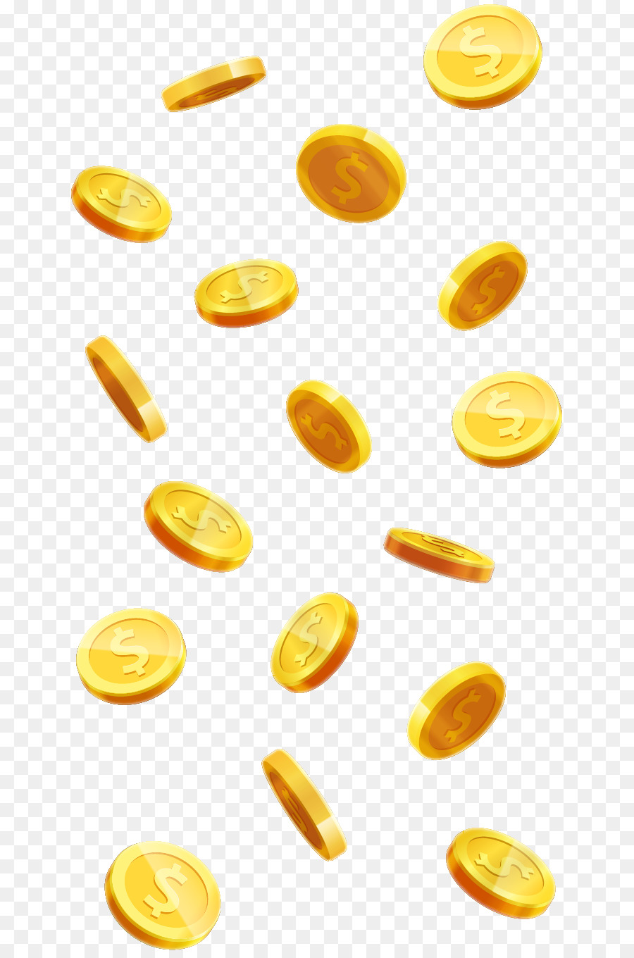Vector gold coins clipart svg royalty free stock Food Icon Background png download - 708*1355 - Free ... svg royalty free stock
