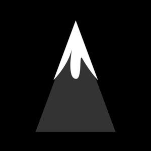 Vector mountain clipart clipart black and white 385 mountain free clipart | Public domain vectors clipart black and white