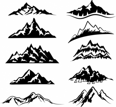 Mountain vector clipart clip art royalty free library Mountain free vector download (616 Free vector) for ... clip art royalty free library