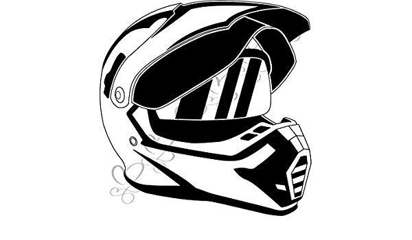 Vector racing and motorsports clipart image library Amazon.com: Yetta Quiller Motocross Helmet Crash Helmet ... image library