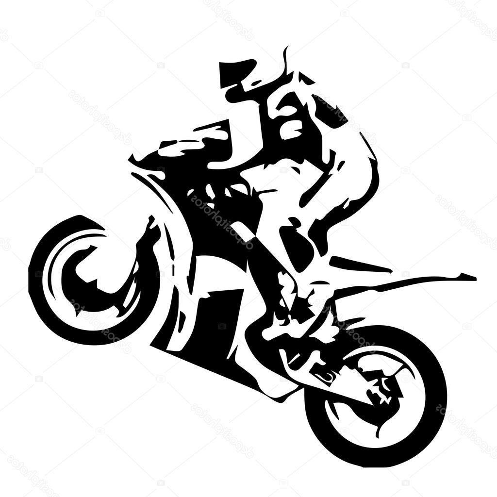 Vector racing and motorsports clipart image library download Unique Motorcycle Racing Silhouette Drawing » Free Vector ... image library download