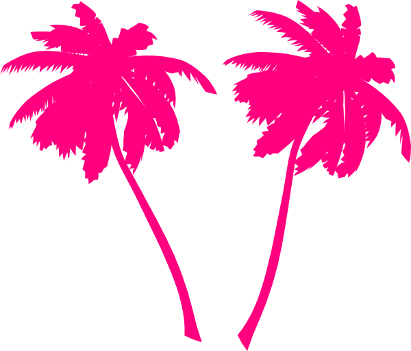 Vector tree clipart jpg black and white download Colorful clipart palm tree ~ Frames ~ Illustrations ~ HD images ... jpg black and white download