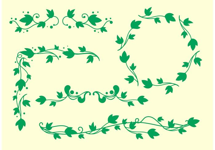 Vector vines clipart royalty free stock Simple Ivy Vine Vectors - Download Free Vectors, Clipart ... royalty free stock