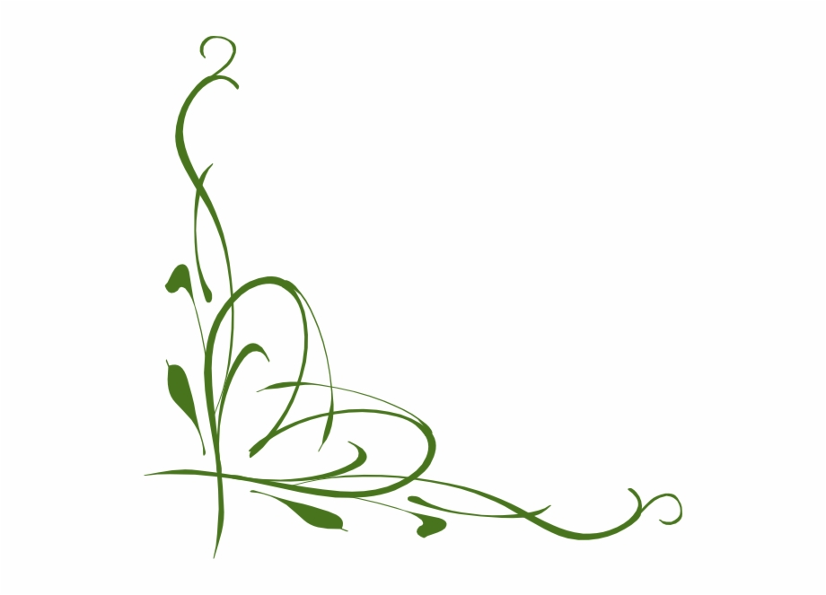 Vines and scrolls clipart vector royalty free Scroll Clipart Simple Vector - Green Vines Clip Art Free PNG ... vector royalty free