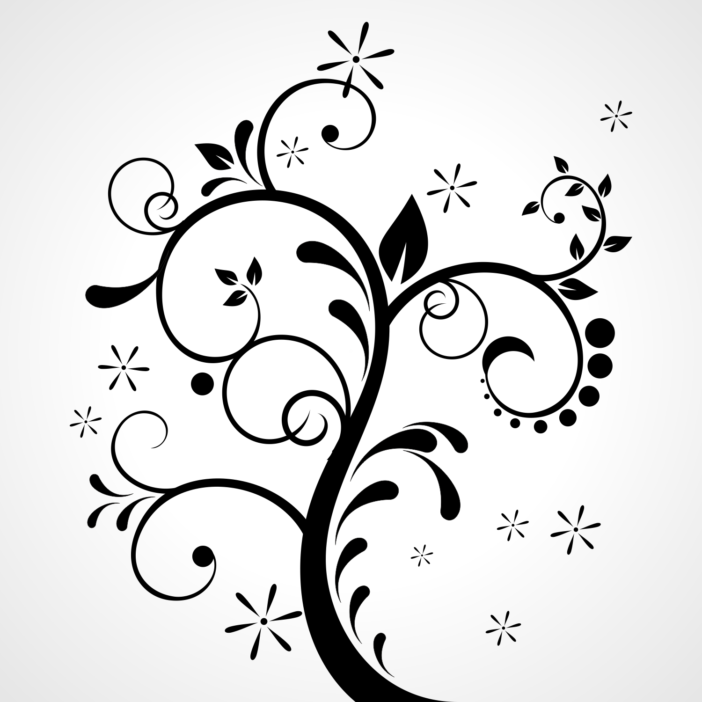 Vector white clipart ornament clipart black and white download Free Ornament Vector Png, Download Free Clip Art, Free Clip ... clipart black and white download