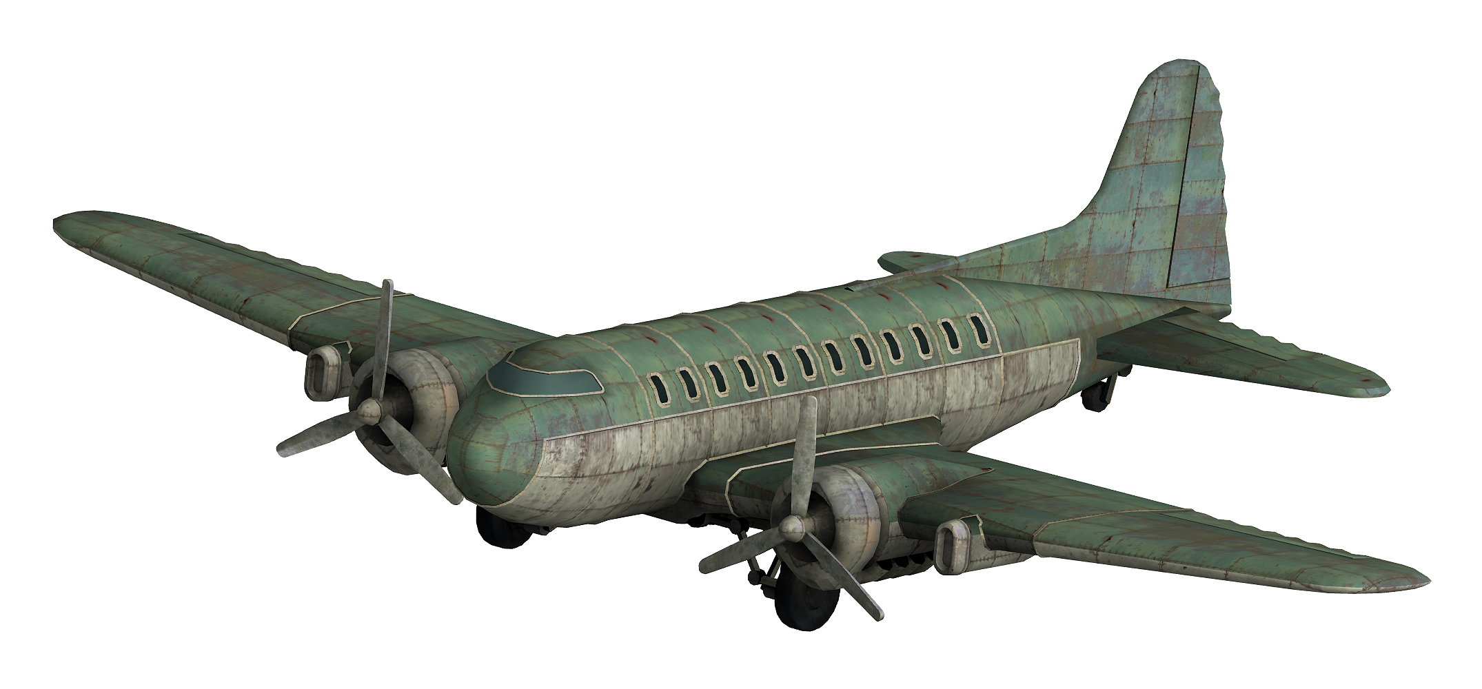 Vegas plane clipart image transparent library Transport plane - The Fallout wiki - Fallout: New Vegas and more ... image transparent library