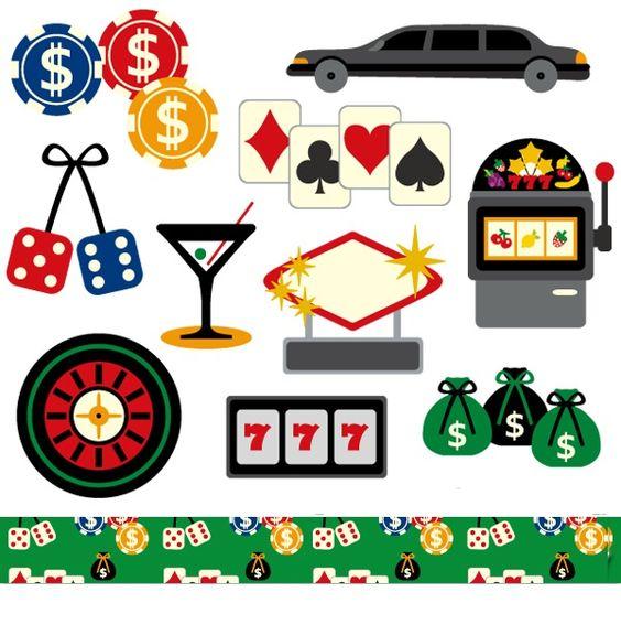 Vegas plane clipart jpg transparent download Las Vegas casino clip art / digital images / Clipart Vegas Night ... jpg transparent download