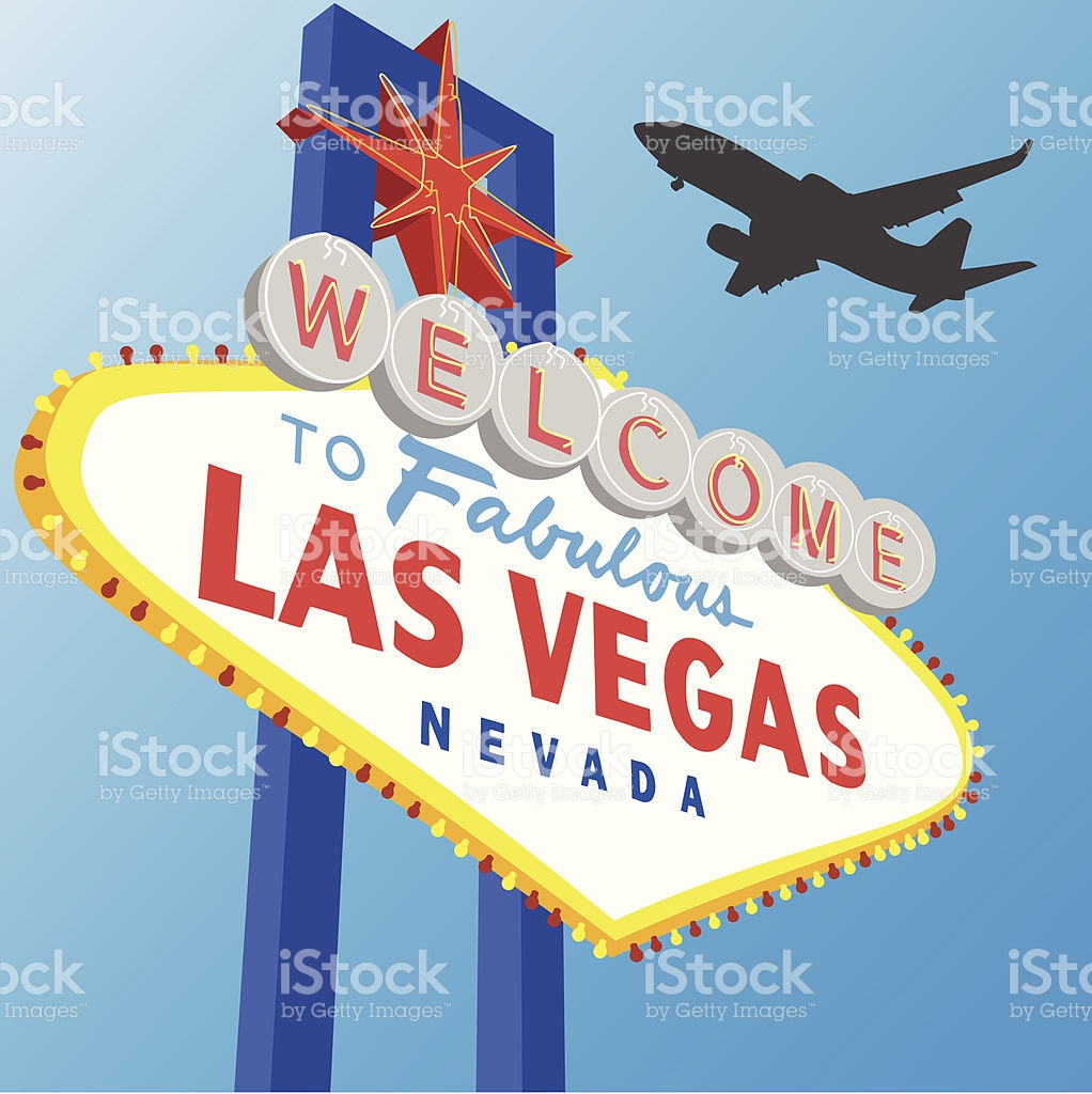 Vegas plane clipart vector royalty free library Welcome To Fabulous Las Vegas Sign With A Plane Silhouettes stock ... vector royalty free library
