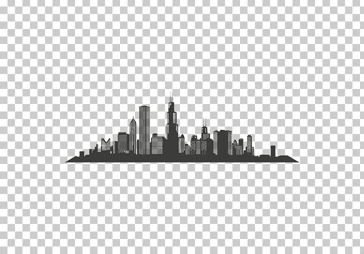 Vegas skyline silhouette clipart picture freeuse download Chicago Las Vegas Skyline Silhouette PNG, Clipart, Art ... picture freeuse download