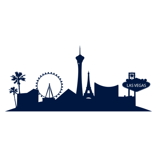 Vegas skyline silhouette clipart image royalty free library Pin by Lex Niskey on lets get INKY | Vegas tattoo, Vegas ... image royalty free library