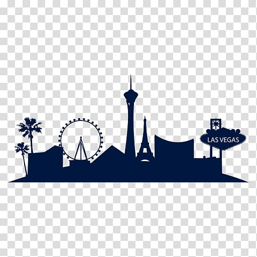 Vegas transparent png clipart vector freeuse Las Vegas illustration, Las Vegas Skyline, city landscape ... vector freeuse