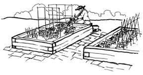 Vegetable garden clipart black and white picture black and white library Image result for gardening clipart black and white | GARDEN ... picture black and white library
